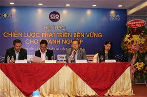 """Hội thảo """" Chiến lược phát triển bền vững cho Doanh nghiệp"""
