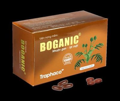 """Boganic – """" Tăng cường chức năng gan"""""""
