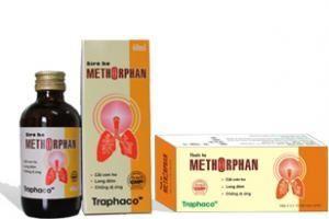 """Methorphan – """" Siro ho trẻ em"""